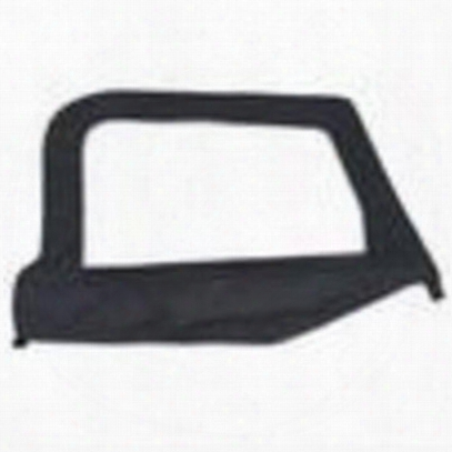 Smittybilt Replacement Upper Doorskin With Frame, Black Diamond - 79535