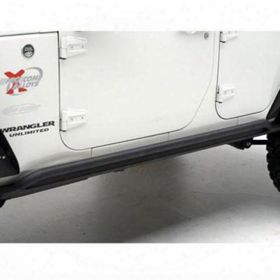 Smittybilt Xrc Rock Sliders (black) - 76895