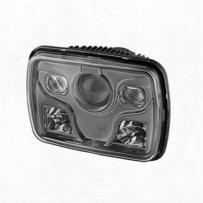 Spyder Auto Group 7x6 Inch Led Headlights (black) - 9026805