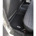 Rugged Ridge All Terrain Floor Liner, Rear (Black) - DMC-12950.19