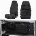 Smittybilt G.E.A.R. Seat Cover Kit - GEARBLACK1