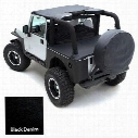 Smittybilt Smittybilt Denim Black Cover Kit - JPCVRPKG9
