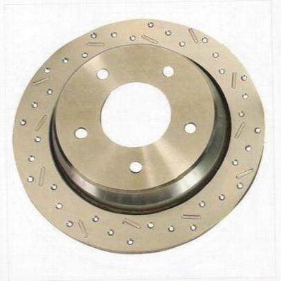 Stainless Steel Brakes Big Bite Crossed Drilled Brake Rotors - 23200aa3r