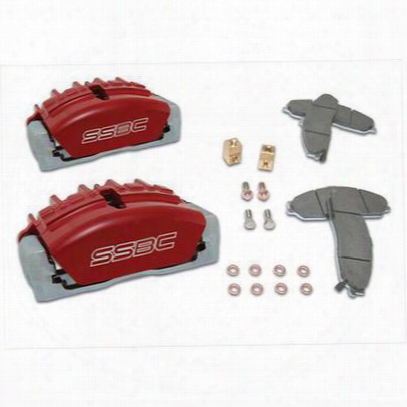 Stainless Steel Brakes Quick Change Tri-power 3-piston Calipers - A189-4