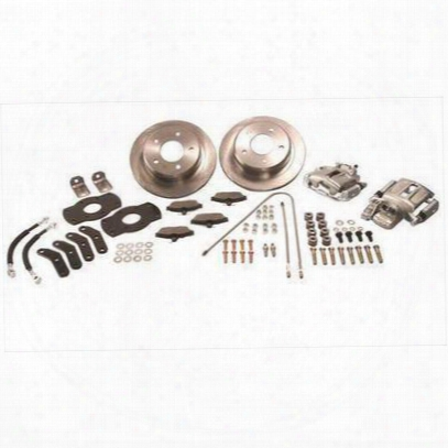 Stainless Steel Brakes Rear Drum To Disc Brake Conversion Kit (natural) - A128