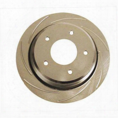 Stainless Steel Brakes Slotted Brake Rotor - 23049aa2l