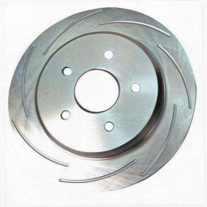 Stainless Steel Brakes Slotted Brake Rotor - 23164aa2l
