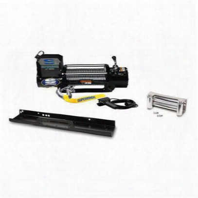 Superwinch Lp8500 Winch With Mounting Plate - 1585201