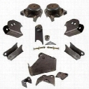 Synergy Manufacturing HD Front Axle Bracket Kit - 8071-01