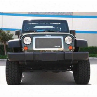 T-rex Grilles Upper Class Stainless Mesh Grille (stainless Steel) - 54483