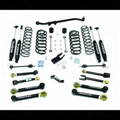 Teraflex 4 Inch Lift Kit With 8 Flexarms And 9550 Shocks - Right Hand Drive - 1656452