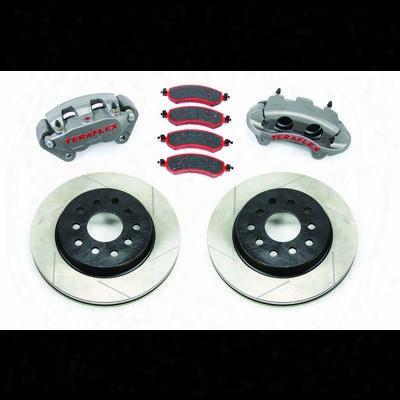 Teraflex Big Brake Upgrade With Slotted Rotors (natural) - 4303420