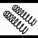 TeraFlex 5 Inch Lift Coil Springs, Front, Black, Pair of 2 - 1843502