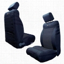 Bartact Front Seat Cover (Black/Black) - JKSC2013FPBB