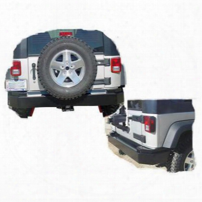 Tomken Machine Rear Bumper (black) - Tmr-0741-b
