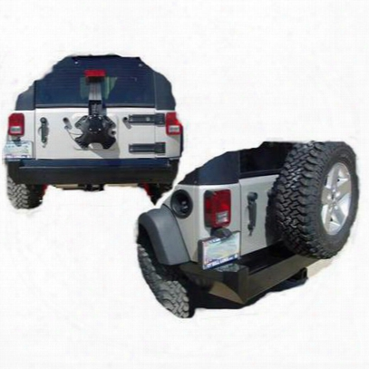 Tomken Machine Rear Bumper (black) - Tmr-0742-b