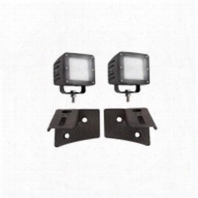 Trail Gear Led Pod Windshield Light Bundle - 303516-kit