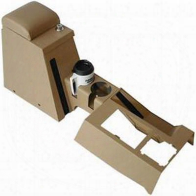Tuffy Series Ii Security Full Console (camel) - 040-05