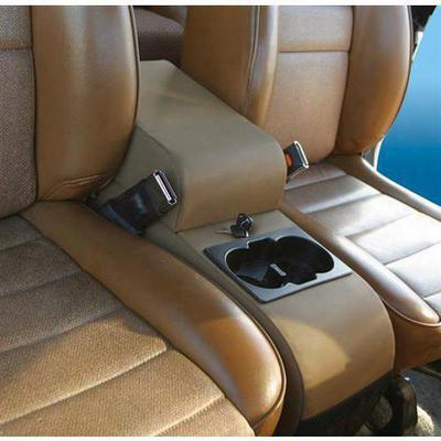 Vertically Driven Products Padded Center Console (black) - 32001