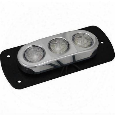 Vision X Lighting Flat Mount 3 Light Led Amber Billet Pod - 4004894
