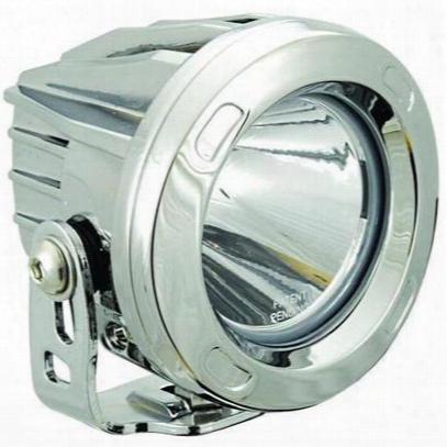 Vision X Lighting Optimus Round Series Prime 20 Degree Chrome Led Light - Spot Beam - 9149264