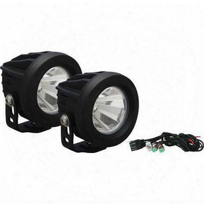 Vision X Lighting Optimus Series Prime 60-degree Dual Led Black Light Kit - Spot Beam - 9141435