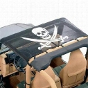 Vertically Driven Products Koolshade Full Brief Top (Pirate Flag) - 50713-2