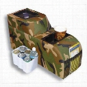 Vertically Driven Products Padded Locking Catch All Console (Camo) - 42031