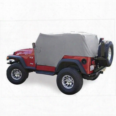 Vertically Driven Products Full Monty Cab Cover (gray) - 501163