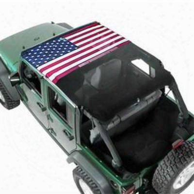 Vertically Driven Products Koolbreez Sun Screen (american Flag) - 50711-1