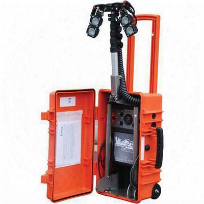 Vision X Lighting Four Solo Pod Led Incident Response Case - 4008816