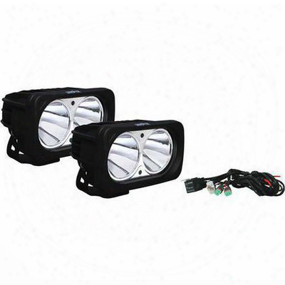 Vision X Lighting Optimus Seris Prime 10-degree Dual Led Black Light Kit - Spot Beam - 9125053