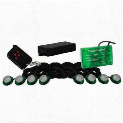 Vision X Lighting Tantrum Led Rock Light Kit Green - 4005396