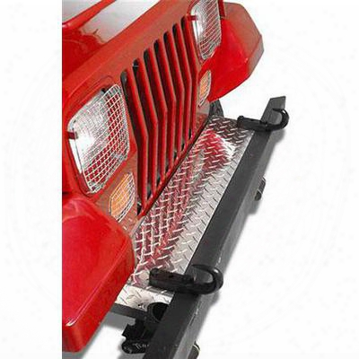 Warrior Front Frame Cover (polished Aluminum) - 91610pa
