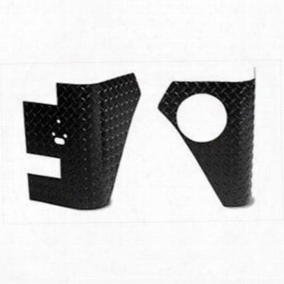 Warrior Rear Corners (black) - 920apc