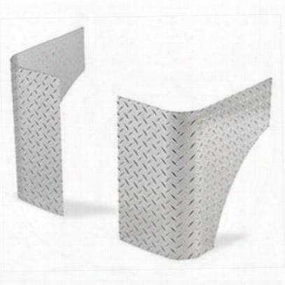 Warrior Rear Corners (polished Aluminum) - 902