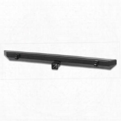Warrior Rear Rock Crawler Bumper With 2 Inch Receiver (black) - 576