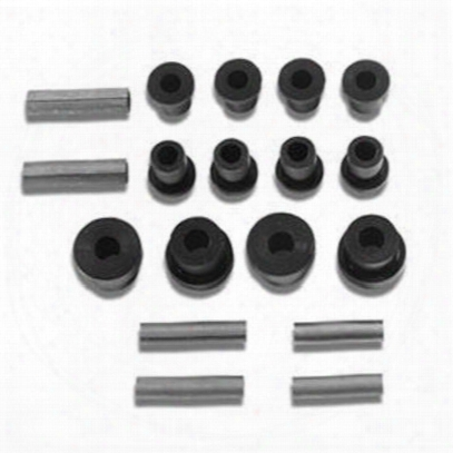 Warrior Replacement Greaseable Shackle Bolts And Bushing Kit - 1803a