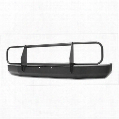 Warrior Rock Cfawler Front Bumper With Brush Guard (black) - 56050