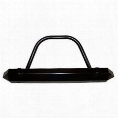 Warrior Rock Crawler Front Stubby Bumper With Brush Guard And D-ring Mounts (black) - 57059