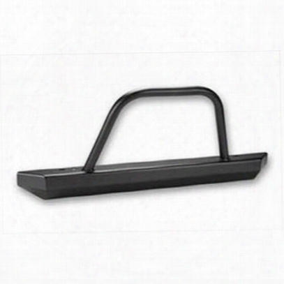 Warrior Rock Crawler Front Stubby Bumper With Brush Guard (black) - 57058