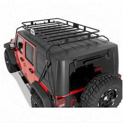 Warrior Safari Roof Rack For Tj Wrangler - 858