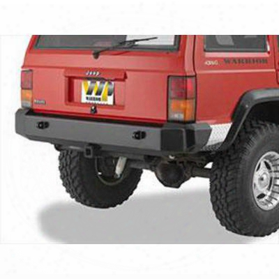 Warrior Standard Rear Bumper With D-ring Brackets (black) - 563