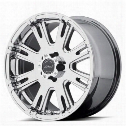American Racing Ar708, 20x9 Wheel With 5 On 5.5 Bolt Pattern - Bright Pvd (chrome) - Ar70829055820