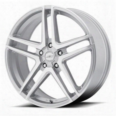 American Racing Ar907, 15x7 Wheel With 5 On 4.5 Bolt Pattern - Silver - Ar90757012435