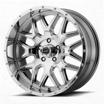 American Racing Ar910, 20x9 Wheel With 5 On 5 Bolt Pattern - Chrome - Ar91029050800