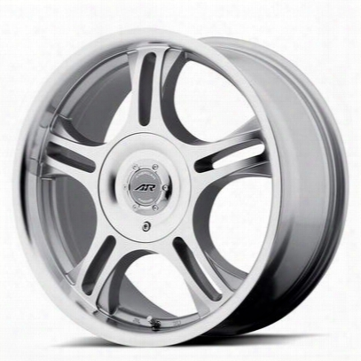 American Racing Ar95 Estrella, 13x5.5 With 4 On 100 Bolt Pattern - Machined With Clear Coat - Ar9535510