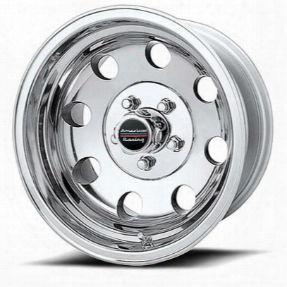 American Racing Baja, 16x8 Wheel With 5 On 127 Bolt Pattern - Polished - Ar1726873