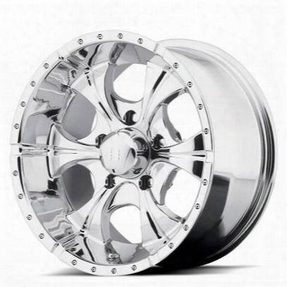 Helo He791, 18x9 Wheel With 5 On 5.5 Bolt Pattern - Chrome- He7918955212