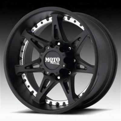 Moto Metal Mo961, 18x10 Wheel With 6 On 135 Bolt Pattern - Satin Black - Mo96181063724n